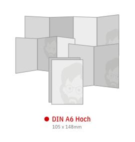 DIN A6 Hoch