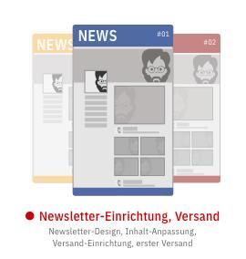 Newsletter Setup und Versand