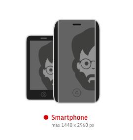 Digitale Medien für Smartphone