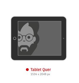 Tablet Querformat